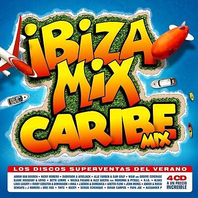 Ibiza Mix + Caribbean Mix 2018-4cd