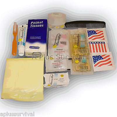 16 Piece Female Personal Hygiene Kit Travel Camping Hunting Survival Emergency