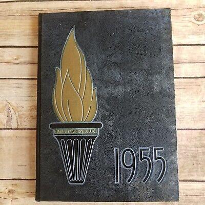 Harris Teachers College St Louis Missouri Torch Yearbook 1955