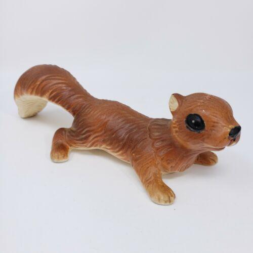 Vintage Handpainted Artmark Japan Ceramic Squirrel Figurine