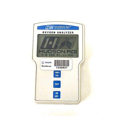 Hudson Rci Oxygen Analyzer Model 5801 Monitor
