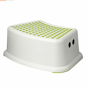 New ikea kids toddler step stool chair foot toilet bathroom kitchen stools for Bathroom step stool for toddlers