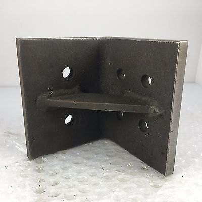 4 X 4 X 3.5 Angle Plate For Tool Maker Mold Maker Inspector Machinist