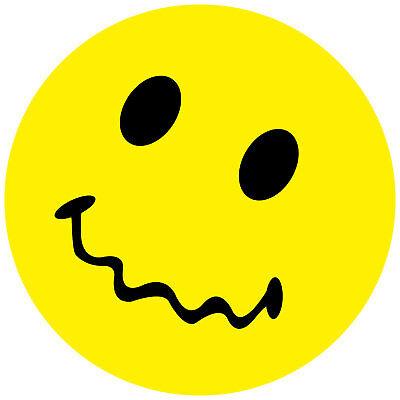 Smiley Aufkleber, Sticker Halloween Smilies, Menge/Größefrei wählbar