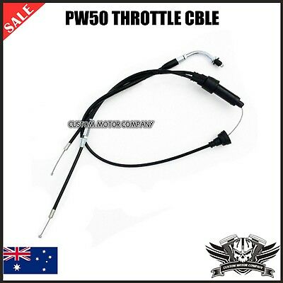Used, YAMAHA PW 50cc PEEWEE THROTTLE CABLE LINE Y-ZINGER PY 50 PIT PRO DIRT BIKE PW50 for sale  Shipping to Canada