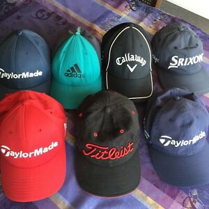 Golf Hats / Caps .... Titleist, Taylor Made, Calloway, Srixon