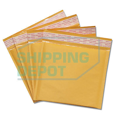 1-2000 Cd 7.25x8 Kraft Bubble Mailers Self Seal Envelopes 7.25x8 Secure Seal