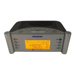 Sangean RCR-2 Atomic Clock Controlled AM/FM Synthesized Radio Alarm Clock