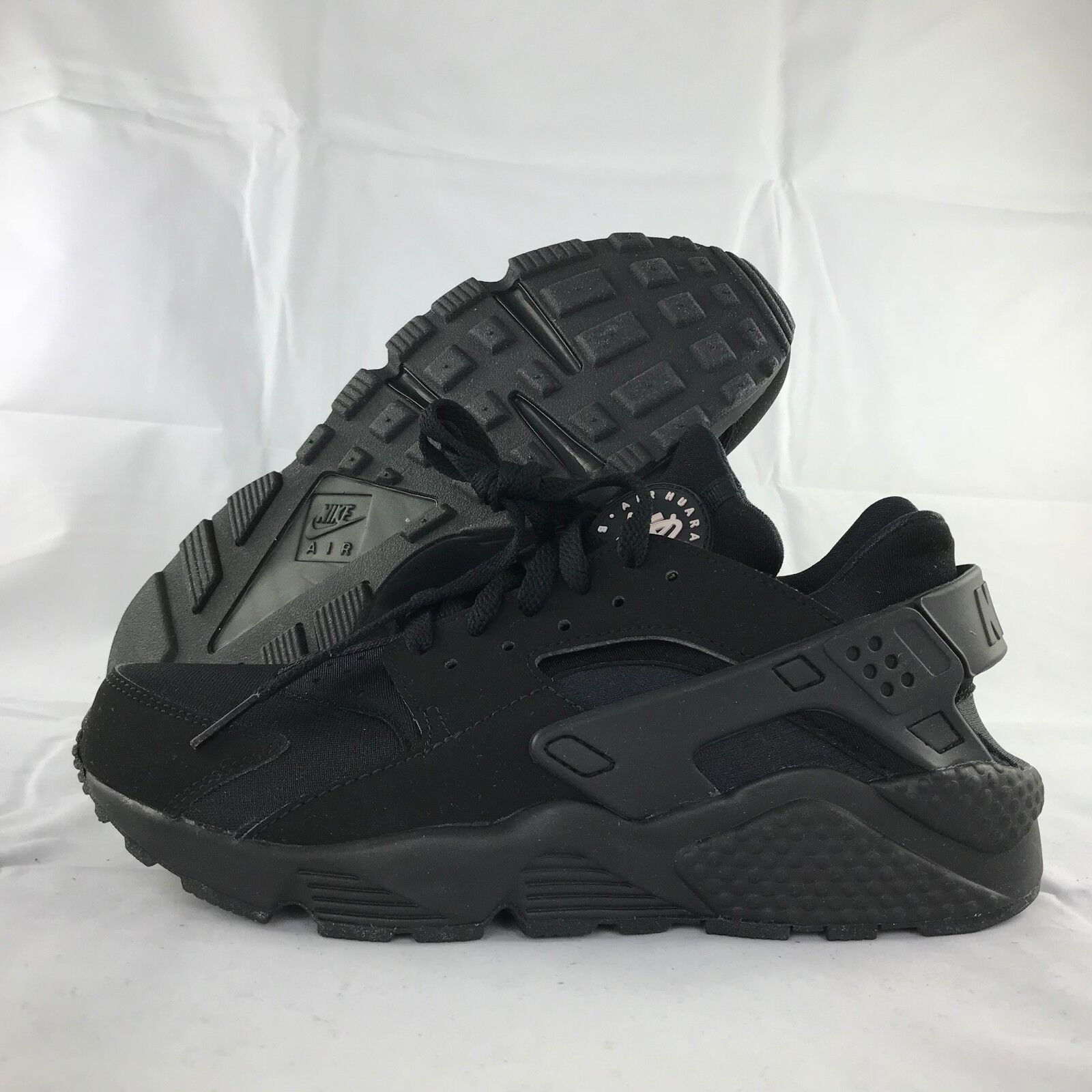 47a8d9db271f3 Nike Air Huarache Triple Black White 318429-003 Me.. in Clothing ...