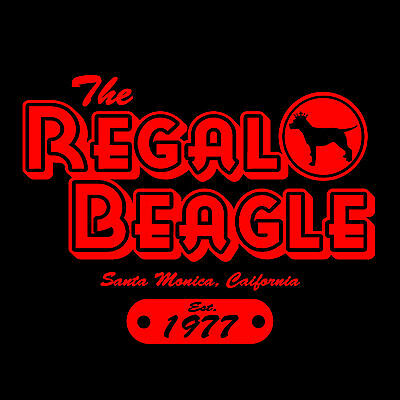 The Regal Beagle T Shirt   Threes Company  John Ritter