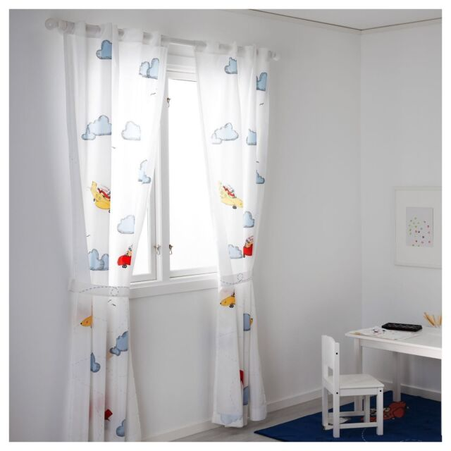 IKEA Flygning 120x300cm Lovely Childrenu0027s Curtains + PRIZE CHANCE!