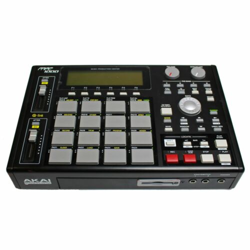 AKAI MPC 1000 Sequencer Sampler Drum Machine (Black)