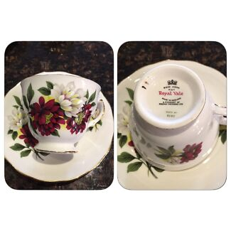 Vintage Duos China Teacup & Saucer Ballajura Swan Area Preview