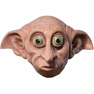 Harry Potter Dobby Mask Halloween Costume Accessory Latex 8+ - Dobby Costume Halloween