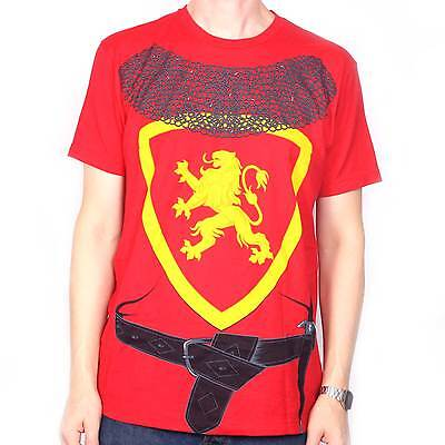 Costume T shirt - Knight US Import Fancy Dress T Shirt Halloween Party Awesome