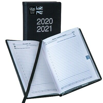 Letts 2020-2021 C031121 August 2020 Thru July 2021 Daily Planner 5-78 X 4-18