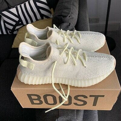 Excellen Condition Adidas Yeezy Boost 350 v2 Butter Authentic Receipt