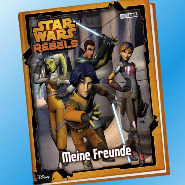 STAR WARS REBELS | Meine Freunde |  Freunde-Buch, Freundebuch (Buch)