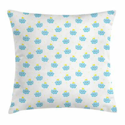 King Throw Pillow Cases Cushion Covers by Ambesonne Home Dec
