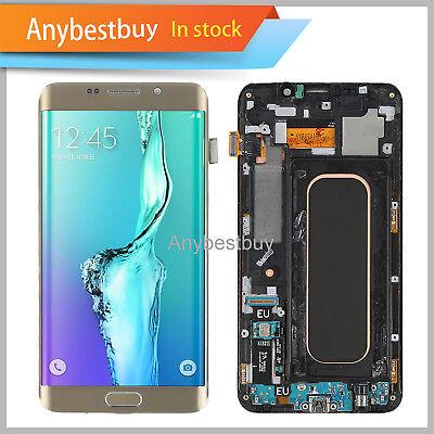 LCD Digitizer Parts Fr Samsung Galaxy S6 Sharpness Plus Frame G928T G928A G928V USA