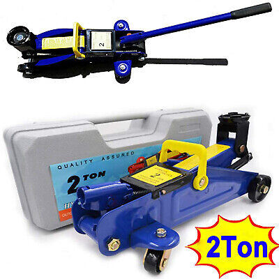 2 Ton Hydraulic Floor Trolley Jack Tonne Lifting Heavy Duty Car Van SUV Garage