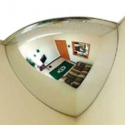 30cm Wall Quarter Mirror Dome Panoramic Convex Shop Safe Ceiling Corner 360 View