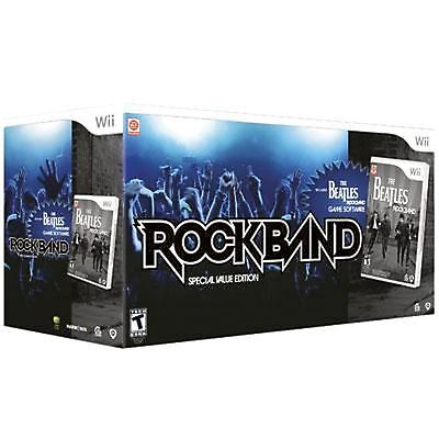 - THE BEATLES Rock Band Special Value Edition Bundle NINTENDO Wii drums/guitar/mic