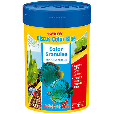 Sera Discus Color Blue 100mL 1.5oz Discus Fish Food Fast Free USA Shipping