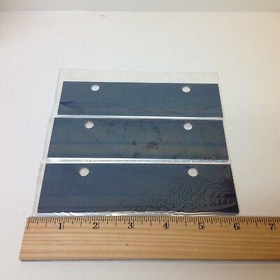 Nip Redi-grill - 3 Each - 6 X 1 34 Grill Scraper Replacement Blades