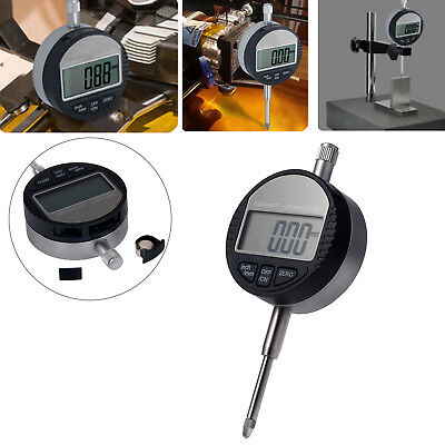 Digital Dial Indicator Gauge Dti Test Range 0-25.4mm1 Clock 0.01mm.0005