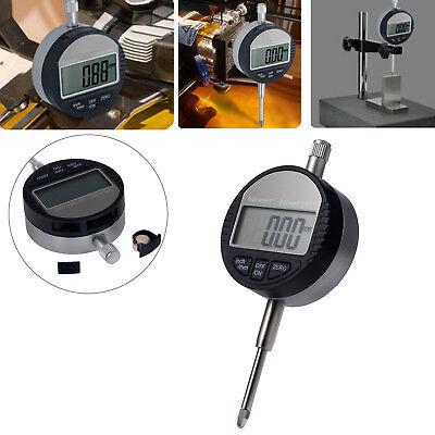 Digital Dial Indicator Gauge Dti Test Range 0-25.4mm1 Clock 0.01mm.0005