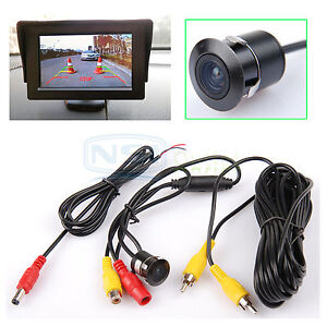 Waterproof CCD Wide Angle Car Rear View Reverse Backup View Parking Camera New