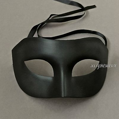 Black Man Halloween Mask (Black Men Venetian Masquerade Prom Halloween Event Cosplay Costume Party)