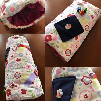 Fiddle muff comforter - Fleecy, Keeps hands warm and busy. Great for dementia...