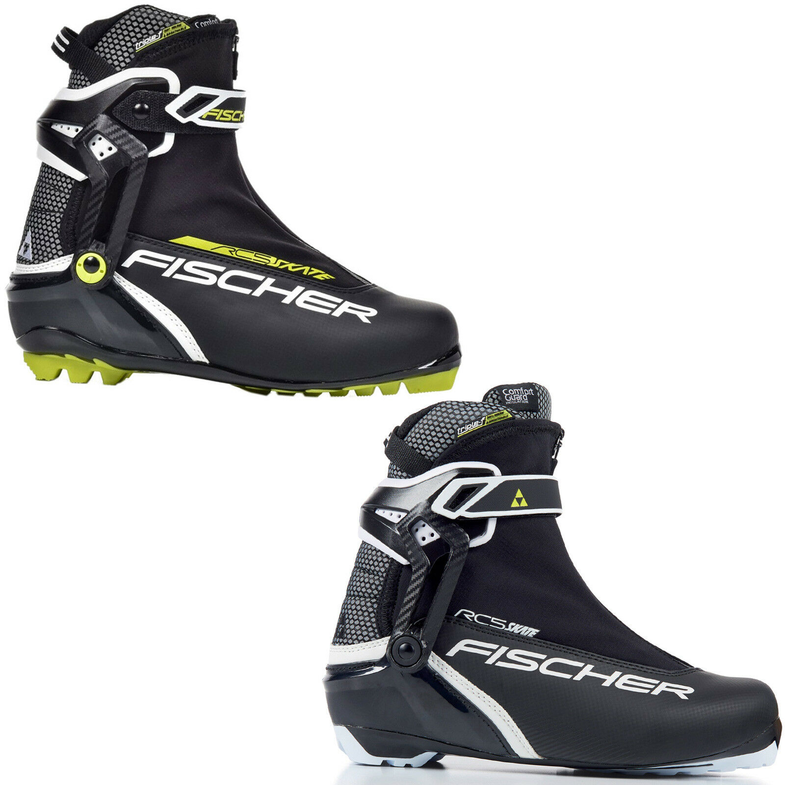 Fischer RC5 Skate Men s Cross Country Ski Boots NNN Shoes Skating New Top  фото 09b4ae65800