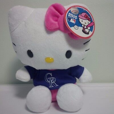 (MLB SANRIO HELLO KITTY COLORADO ROCKIES 8