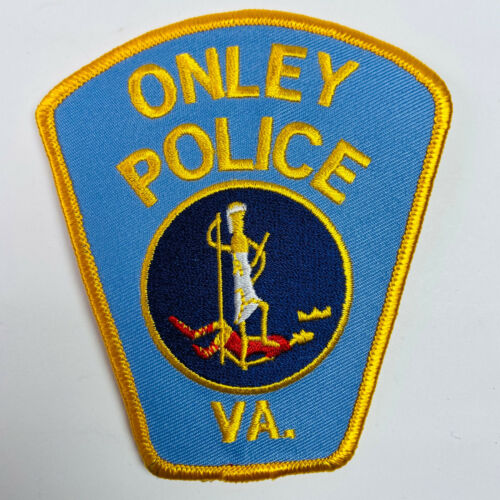 Onley Police Accomack County Virginia VA Patch (B5-A)
