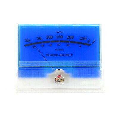 Mcintosh Classic Blue Vu Panel Meter Db Level Power Amplifier Audio W Backlight