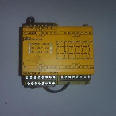 Pilz Pnoz X9p 777606 24v Dc Safety Relay