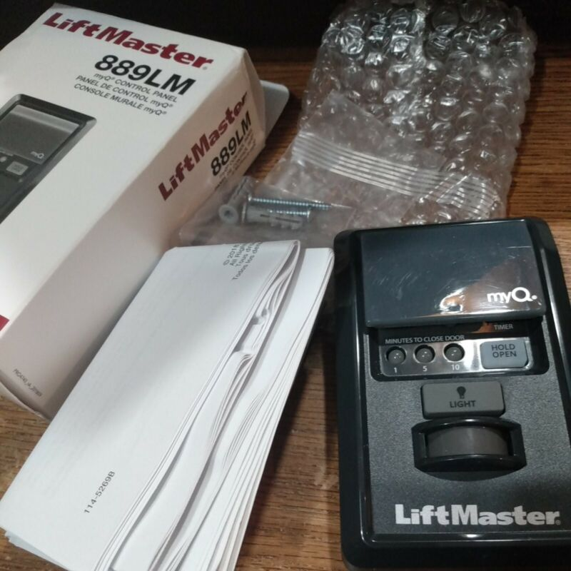 LiftMaster 889LM Security+ 2.0 MyQ Wall Control Panel Tested