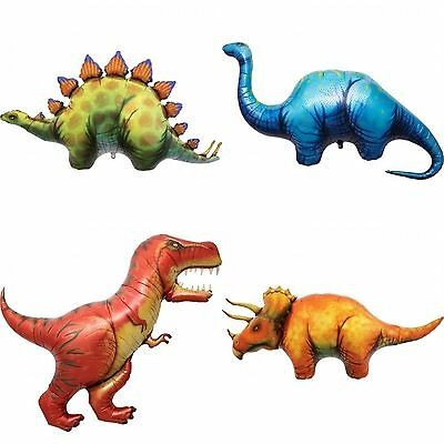 NorthStar Dinosaur T-Rex Triceratops Stegosaurus Apatosaurus Foil Balloon  (1pc) - T Rex Balloon