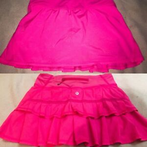 NEW Pink Lululemon Skirt Size 2