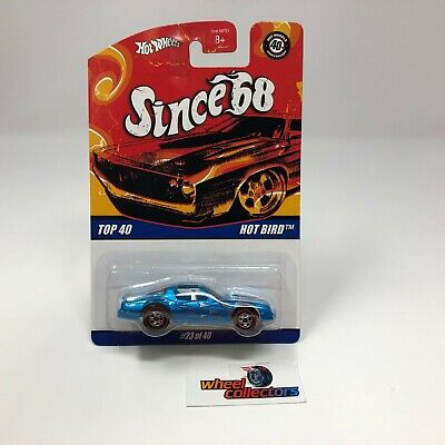 Hot Bird * Blue * Hot Wheels Since 68 * ZC9