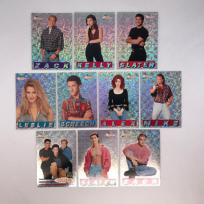 SAVED BY THE BELL THE COLLEGE YEARS (Pacific/1994) Complete PRISM CHASE Card Set