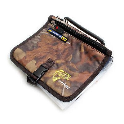 Fishing Tackle Bag Soft Lure Plastics Bag zipper bag×8