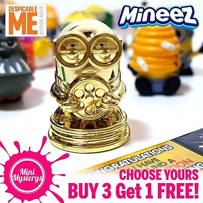 Despicable Me Minions Mineez Series 1 Squishy Figures *CHOOSE YOURS* Moose Toys - Minions Minions
