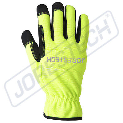 Jorestech All Purpose Mechanics Gloves- High Vis Dexterity Gloves
