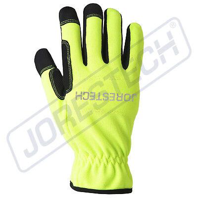 Jorestech All Purpose Mechanics Gloves- High Vis Dexterity Gloves
