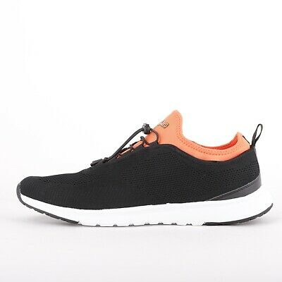 Mens Henleys Miko Tech Black/Orange Trainers (FCF2)  RRP £39.99