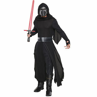 HALLOWEENStar Wars Kylo Ren Delux Mens Licensed Disney Costume FREE EXPRESS POST - Express Post Costumes